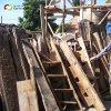 Vladořice - holubník | části konstrukce rozebraného holubníku - červen 2012