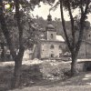 Horní Slavkov - kostel sv. Anny   špitální kostel sv. Anny v Horním Slavkově na snímky z doby po 2. světové válce