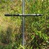 Skoky - Starkův kříž | nový kovaný vrcholový kříž - září 2015