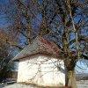 Krásno - kaple Panny Marie Sněžné | kaple Panny Marie Sněžné od jihu - prosinec 2013