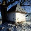 Krásno - kaple Panny Marie Sněžné | zchátralá kaple Panny Marie Sněžné - prosinec 2013