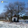Krásno - kaple Panny Marie Sněžné | zchátralá kaple Panny Marie Sněžné při polní cestě nad Krásnem - prosinec 2013