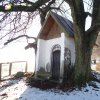 Krásno - kaple Panny Marie Sněžné | zchátralá kaple Panny Marie Sněžné v Krásně od severu - prosinec 2013