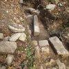 Čistá - kostel sv. Michaela Archanděla   architektonické články v sondě zjišťovacího archeologického výzkumu pozůstatků kostela - září 2014