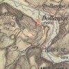 Dolánky - Toflův mlýn | Toflův mlýn (Toffelmühle) na mapě III. vojenského (františko-josefského) mapování z let 1877-1880