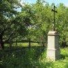 Chlum - Ratkův kříž | obnovený Ratkův kříž na okraji vsi Chlum po celkové rekonstrukci - květen 2017