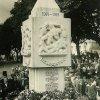 Čistá - pomník obětem 1. světové války | pomník padlým během slavnostního odhalení dne 16. srpna 1925