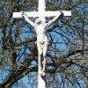 Semtěš - Modlův kříž | vrcholový kříž s plastikou Krista - duben 2016