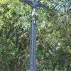 Chlum - Pfeiferův kříž | restaurovaný železný vrcholový kříž - září 2016