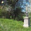 Chlum - Švédský kříž | obnovený Švédský kříž při silnici z Chlumu na Novosedly po celkové rekonstrukci - duben 2016