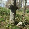 Mnichov - smírčí kříž | kamenný smírčí kříž u Mnichova - duben 2014