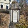 Hoštěc - pomník obětem 1. světové války   pomník padlým - březen 2018