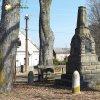 Rankovice - pomník obětem 1. světové války | restaurovaný pomník obětem 1. světové války na návsi uprostřed vsi Rankovice - březen 2018