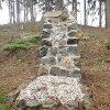 Poutnov - památník obětem 1. světové války | přední strana centrální mohyly - duben 2014
