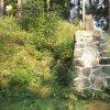 Poutnov - památník obětem 1. světové války | přední strana centrální kamenné mohyly památníku obětem 1. světové války u Poutnova - duben 2014