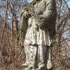 Bohuslav - socha sv. Jana Nepomuckého | vrcholová figurální plastika - březen 2018