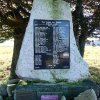 Ryžovna - pomník obětem 1. světové války | přední strana pomníku padlým v Ryžovně - říjen 2013