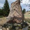 Ryžovna - pomník obětem 1. světové války | zadní strana pomníku padlým v Ryžovně - duben 2014