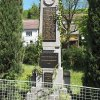 Jakubov - pomník obětem 1. světové války | přední strana pomníku padlým - květen 2017
