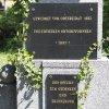 Jakubov - pomník obětem 1. světové války | novodobé věnovací desky - květen 2017