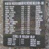 Merklín - pomník obětem 1. světové války | nová nápisová deska se jmény padlých - srpen 2019