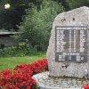 Merklín - pomník obětem 1. světové války | pomník obětem 1. světové války v Merklíně po celkové rekonstrukci - srpen 2019