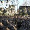 Javorná - Rábův mlýn | zříceniny bývalé hlavní mlýnské budovy Rábova mlýna s odvodním kanálem z lednice - březen 2017