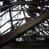 Verušičky - kaple Nejsvětější Trojice   zbytky krovu a střechy kaple - listopad 2009