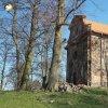 Verušičky - kaple Nejsvětější Trojice   nově zastřešená kaple Nejsvětější Trojice ve Verušičkách od jihozápadu - březen 2017