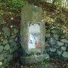 Korunní - pomník obětem 1. světové války | kamenná stéla pomníku padlým - říjen 2013