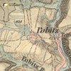 Teleč - Telečský mlýn | Telečský mlýn na výřezu mapy 3. vojenského františko-josefského mapování z roku 1878