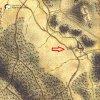 Bochov - Bártův mlýn | Bártův mlýn na Bochovském potoce na výřezu mapy 1. vojenského josefského mapování z let 1764-1768