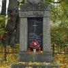 Sněžná - pomník obětem 1. světové války | čelní pohledová strana pomníku - říjen 2015
