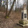Opatov - pomník obětem 1. světové války | obnovený pomník obětem 1. světové války na novém prostranství při průjezdní silnici v Opatově - březen 2020