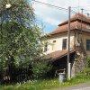 Močidlec - fara | zchátralá budova bývalé fary v Močidlci od jihovýchodu - květen 2017