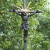 Domašín - Rozův kříž | litinová plastika Ukřižovaného Krista - srpen 2021