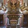 Svatobor - kostel Nanebevzetí Panny Marie | barokní varhany z kostela ve Svatoboru v Zrcadlové síni Klementina v Praze