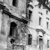 Doupov - kostel sv. Alžběty | stěna bývalého kláštera v 60. letech 20. století