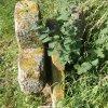 Protivec - smírčí kříž | instalace kamenů v Protivci - červenec 2015