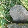 Protivec - smírčí kříž | nově nalezený a instalovaný třetí kámen v podobě řeznického špalku, či pecnu chleba - červenec 2015