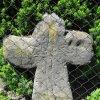 Radošov - smírčí kříž | přední strana smírčího kříže - květen 2009