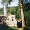 Horní Hrad - hrad a zámek Hauenštejn  