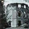 Mořičov - lovecký zámeček   zříceniny loveckého zámečku u Mořičova na historickém snímku z doby před rokem 1945