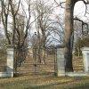 Stružná - zámek | honosná novodobá brána do zámeckého areálu - duben 2013