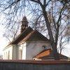 Olšová Vrata - kostel sv. Kateřiny | závěr kostela sv. Kateřiny - prosinec 2009