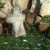 Bečov nad Teplou - smírčí kříž | přenesený kamenný smírčí kříž u Bečova - prosinec 2013