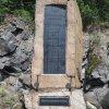 Lučiny - pomník obětem 1. světové války | vrcholová stéla po očištění - červen 2018