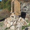 Lučiny - pomník obětem 1. světové války | pomník padlým po celkové rekonstrukci - říjen 2019