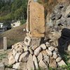 Lučiny - pomník obětem 1. světové války | boční strana pomníku padlým - říjen 2019
