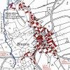Březina (Pirk)   katastrální mapa obce z roku 1945